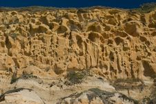Free Sandstone Cliff Face Stock Photos - 5130843