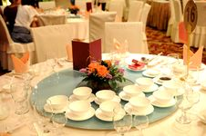 Free The Chinese Wedding Banquet Royalty Free Stock Image - 5132576
