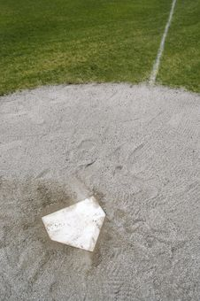 Free Home Plate Royalty Free Stock Images - 5132619
