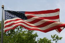 Free Stars And Stripes Stock Image - 5132981