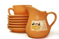 Free Gift Tea Service Royalty Free Stock Images - 5133469