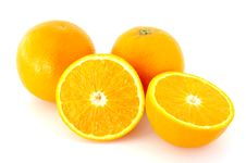 Free Few Juicy Oranges. Stock Image - 5133591