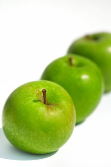 Free Fresh Green Apples III Stock Photography - 5133642