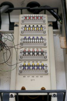 Free Power Distribution Box Stock Image - 5133751