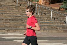 Free Female Athlete Royalty Free Stock Photos - 5134248