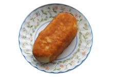 Roasted Pie Royalty Free Stock Photo