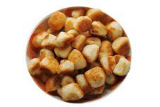 Roasted Cookies Stock Image