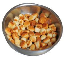 Roasted Cookies Stock Photography