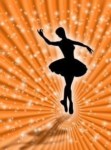 Free Dance In The Stars Stock Photo - 5136880