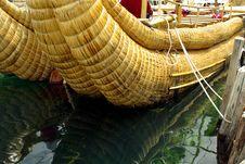 Free Totora Boat, Titicaca Lake Royalty Free Stock Photography - 5137817