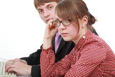 Free Associates Two Royalty Free Stock Photo - 5137895