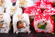 Free Caviar Rolls Royalty Free Stock Photography - 5137987