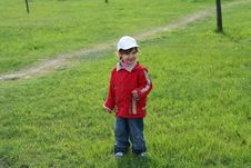 Free Little Girl In The Park Stock Photography - 5138832