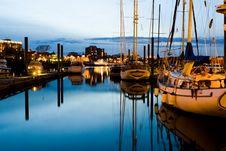 Victoria Harbour Stock Image