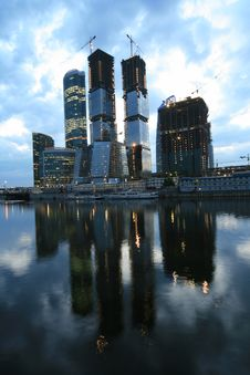 Free Moscow-city Royalty Free Stock Images - 5139109