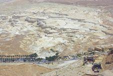Free Near Walls Of Masada Fortress Royalty Free Stock Photography - 5139117