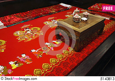 Free Ancient Chinese-style Bedroom Stock Photos - 5143813