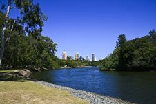 Free Blue River Stock Photography - 5140032