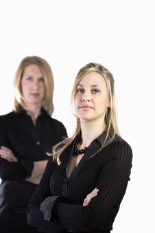 Free Two Busienss Women Stock Image - 5140221