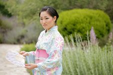Free Asian Girl In A Komona Royalty Free Stock Photos - 5140848