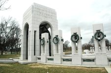 Free World War II Memorial Royalty Free Stock Photos - 5140928