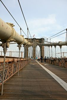 Free The Famous Brooklyn Bridge Stock Photo - 5141000