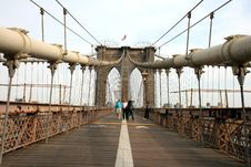Free The Famous Brooklyn Bridge Stock Photos - 5141003