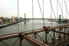Free The Famous Brooklyn Bridge Royalty Free Stock Image - 5141026