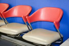 Waiting Room Chairs Royalty Free Stock Photography