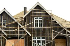 Free Home Exterior Under Construction Royalty Free Stock Photos - 5141678