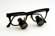 Free Folded Magnifying Glasses Stock Photos - 5142223