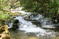 Free Krka Waterfall Royalty Free Stock Images - 5142789