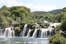 Free Krka Waterfall Stock Image - 5142901