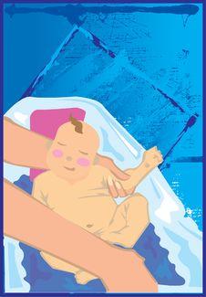 Free Baby Icons Royalty Free Stock Photo - 5144295