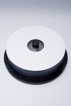 Free Blank Dvd Cd Hd Bluray Stock Photography - 5144502