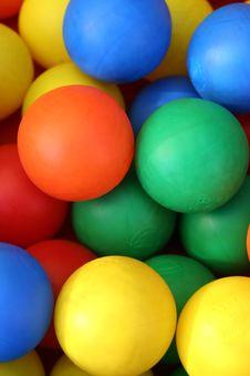 Free Coloured Balls 1 Royalty Free Stock Photo - 5144835