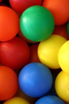 Free Coloured Balls 3 Stock Image - 5144841