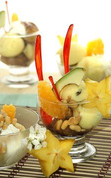 Free Fruit Ice Cream Cone Royalty Free Stock Image - 5144896
