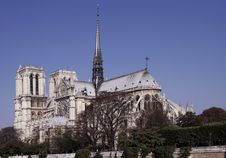 Free Notre Dame De Paris, Gothic Cathedral, France Stock Photography - 5145162