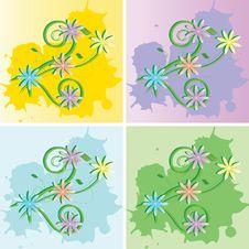 Free Background Flowers Royalty Free Stock Image - 5145346