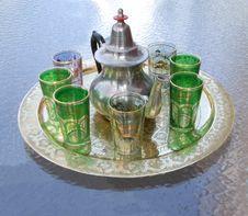Free Tea Set Stock Image - 5145391