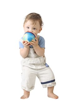 Free The Boy With Ball Royalty Free Stock Photos - 5146408