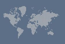 Free World Map Royalty Free Stock Images - 5146999