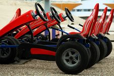 Free Pedal Cars Toy Stock Photography - 5148072