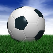 Free Soccer Ball Royalty Free Stock Image - 5148266