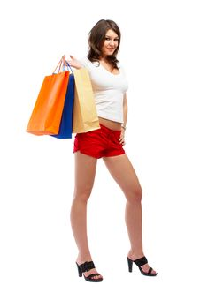 Free Shopping Woman Stock Photo - 5148290