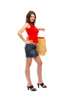 Free Shopping Woman Royalty Free Stock Images - 5148419