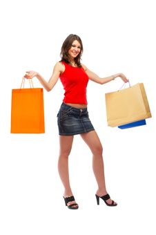 Free Shopping Woman Stock Images - 5148424