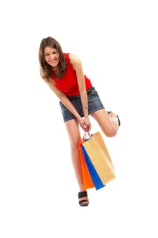 Free Shopping Woman Royalty Free Stock Photos - 5148428