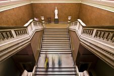 Free Blurred People On Museum Stock Photos - 5148453
